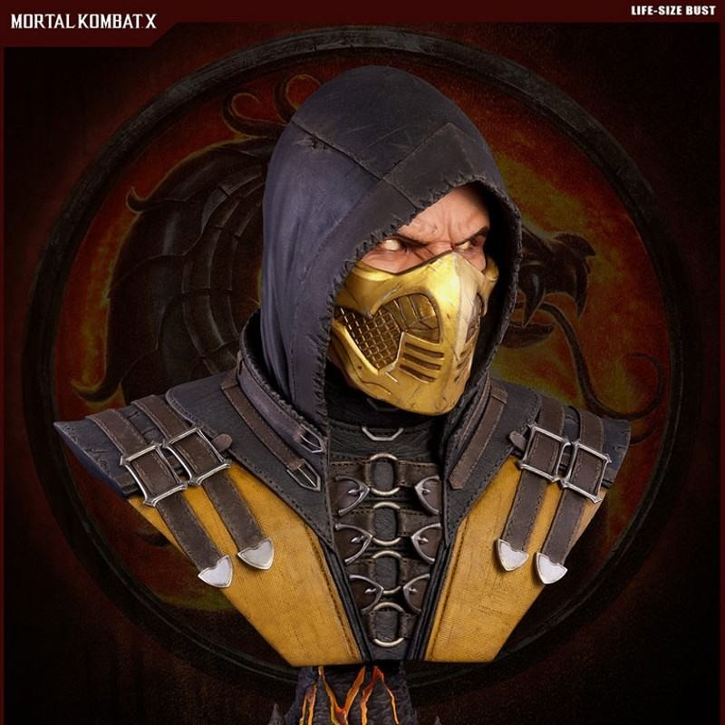 Scorpion - Mortal Kombat X - 1/1 Life Size Bust