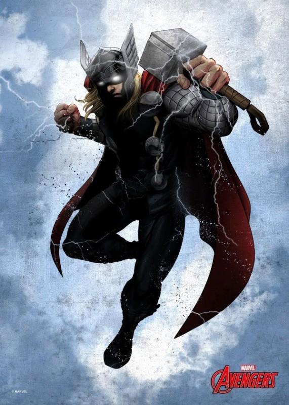 Dark Thor - Marvel Comics - Metall-Poster