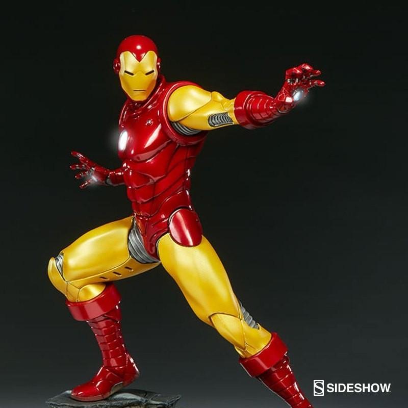 Iron Man - Avengers Assemble - 1/5 Scale Polystone Statue