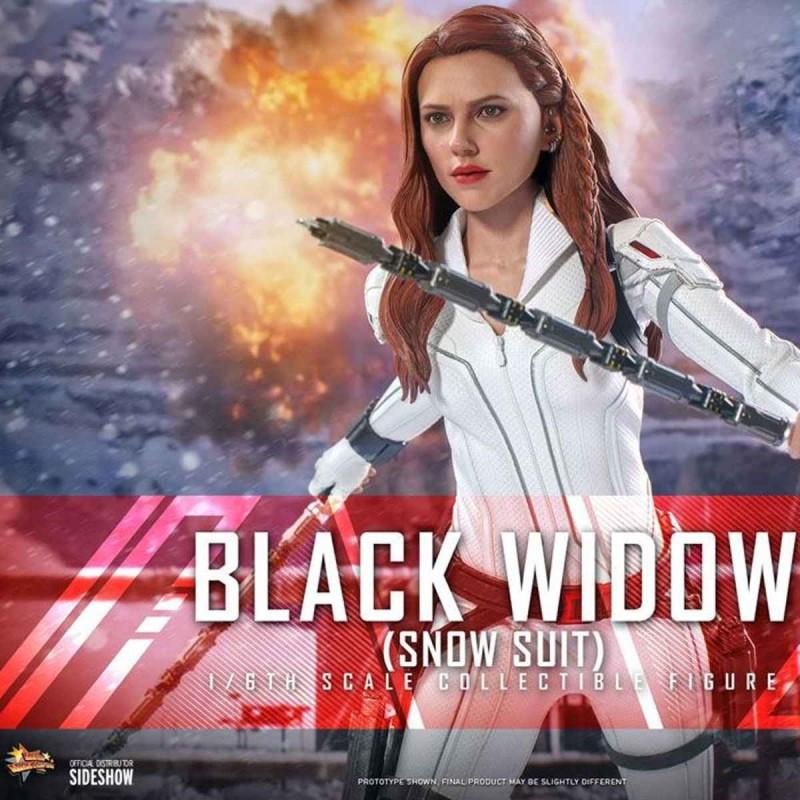 Black Widow Snow Suit Version - Black Widow - 1/6 Scale Figur
