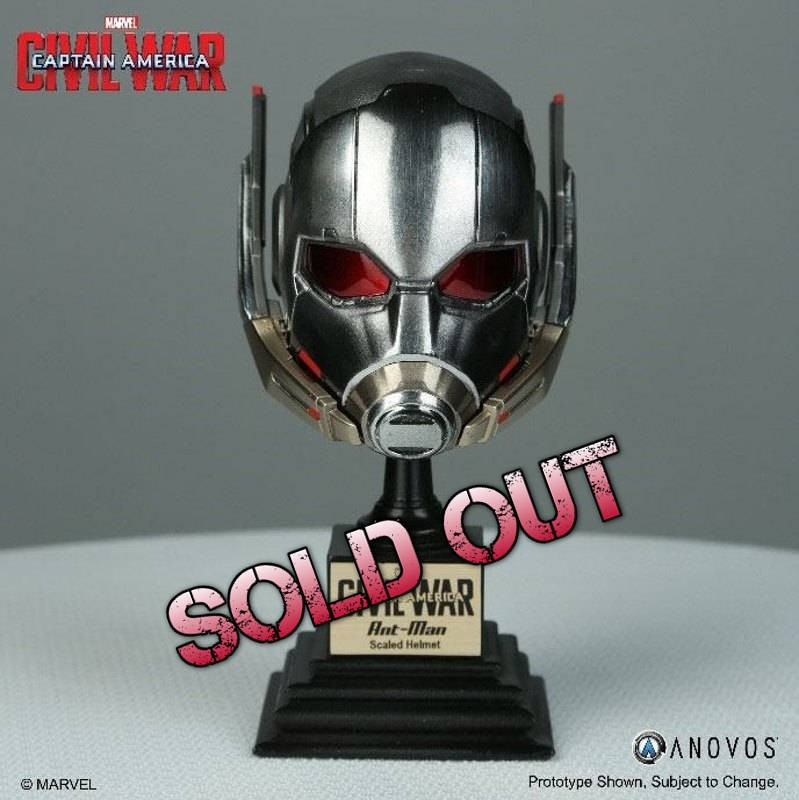 Ant-Man Helm - Captain America Civil War - Marvel Armory Collection 1/3 Replik