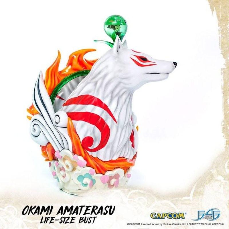 Amaterasu - Okami - 1/1 Scale Polystone Büste
