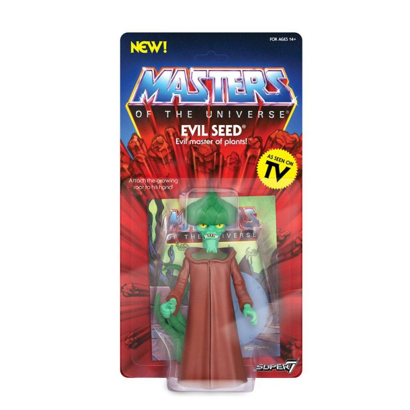 Evil Seed - Masters of the Universe - Vintage Collection Actionfigur 14cm