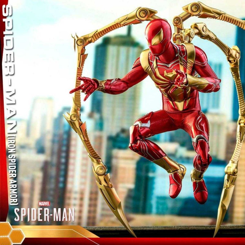 Spider-Man (Iron Spider Armor) - Marvel's Spider-Man - 1/6 Scale Figur