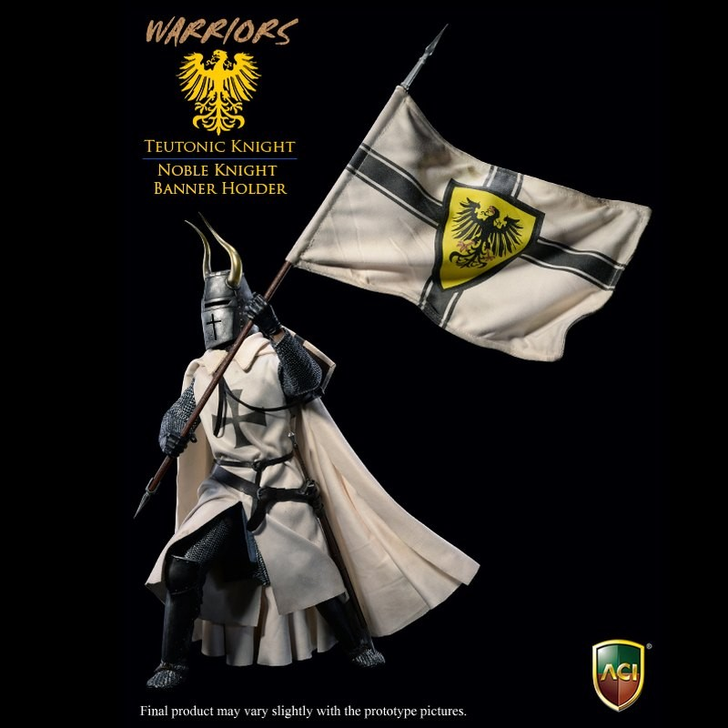 Noble Knight Banner Holder - 1/6 Scale Actionfigur