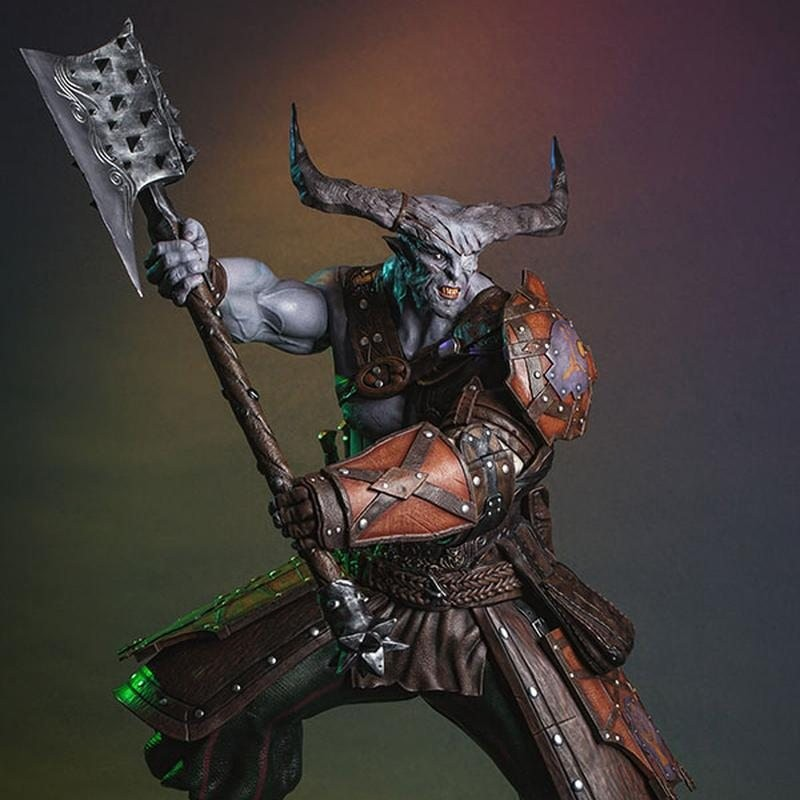 Iron Bull - Dragon Age Inquisition - 1/4 Scale Statue