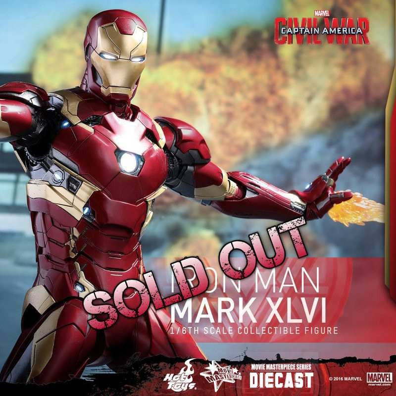 Mark XLVI - Civil War - Diecast 1/6 Scale Figure