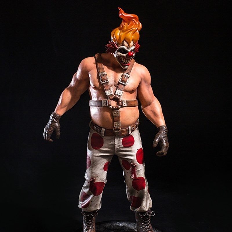 Sweet Tooth - Twisted Metal - Polystone Statue