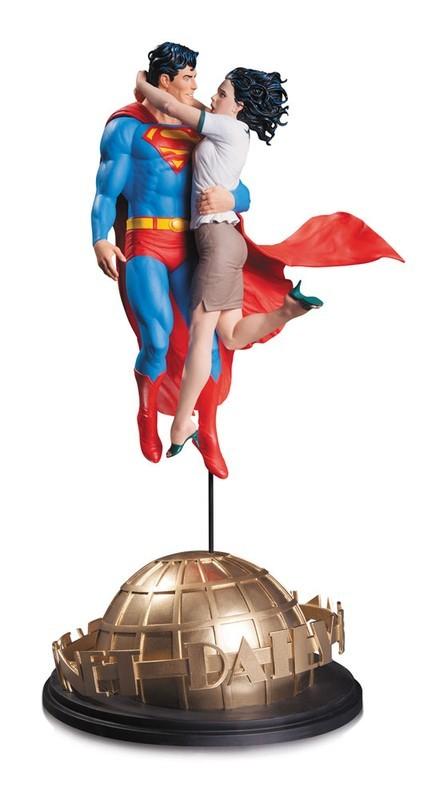 Superman & Lois Lane - Tim Bruckner - Resin Statue