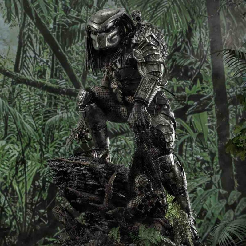 Big Game Cover Art Predator - Predator - 1/4 Scale Polystone Statue