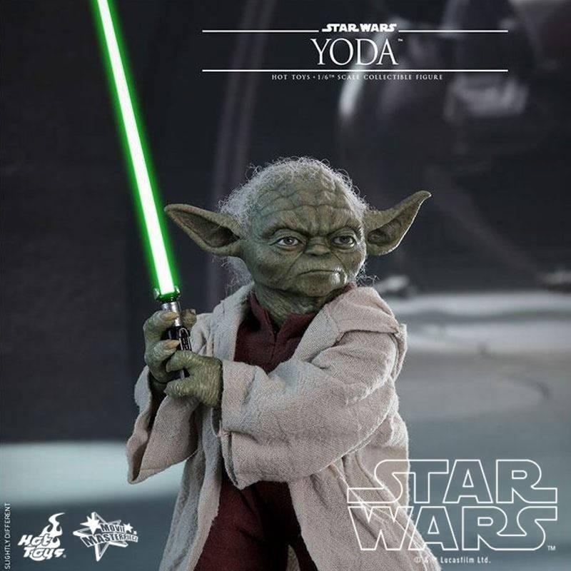 Yoda - Star Wars Episode II - 1/6 Scale Figur