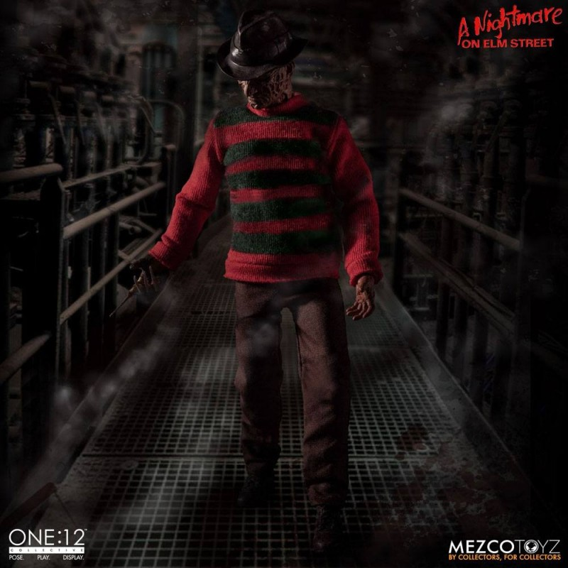 Freddy Krueger - Nightmare On Elm Street - 1/12 Scale Figur