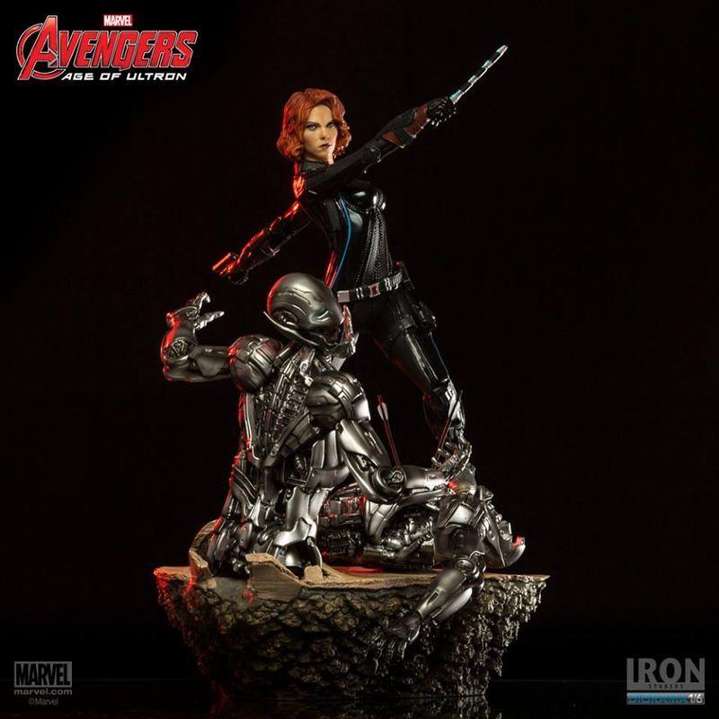 Black Widow - Avengers - 1/6 Scale Diorama