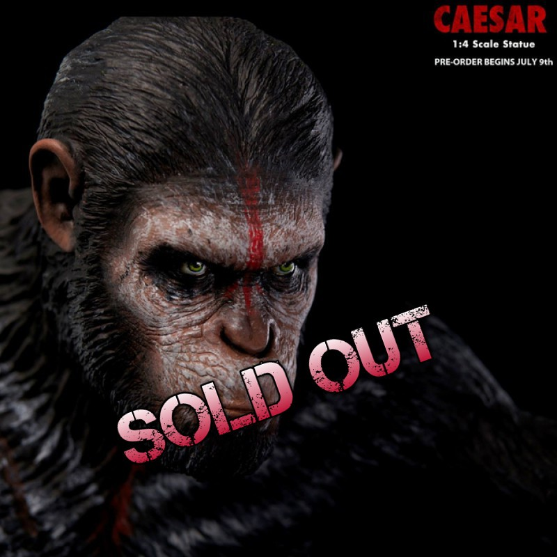 Ceasar - Dawn of the Planet of the Apes - 1/4 Statue
