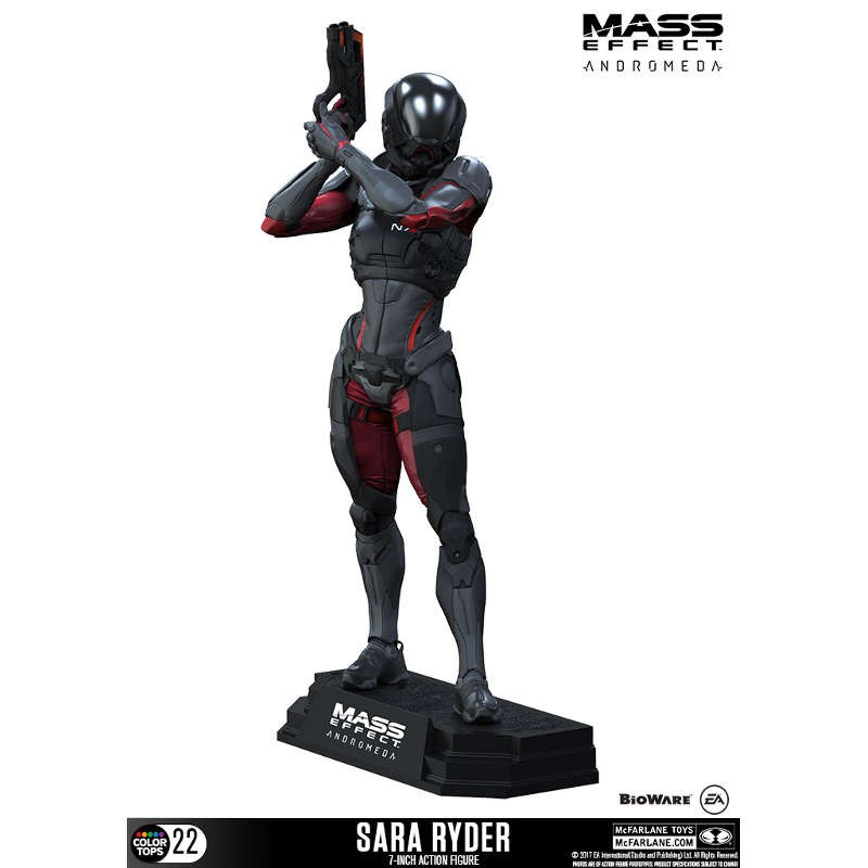 Sara Ryder - Mass Effect Andromeda - Color Tops Actionfigur
