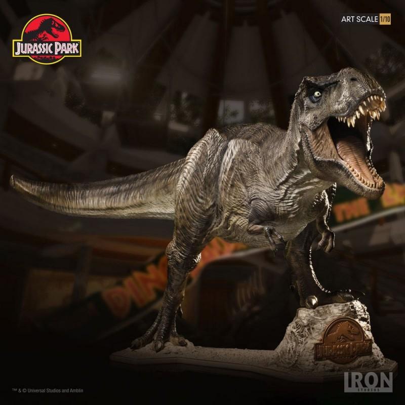 T-Rex - Jurassic Park - 1/10 Scale Statue