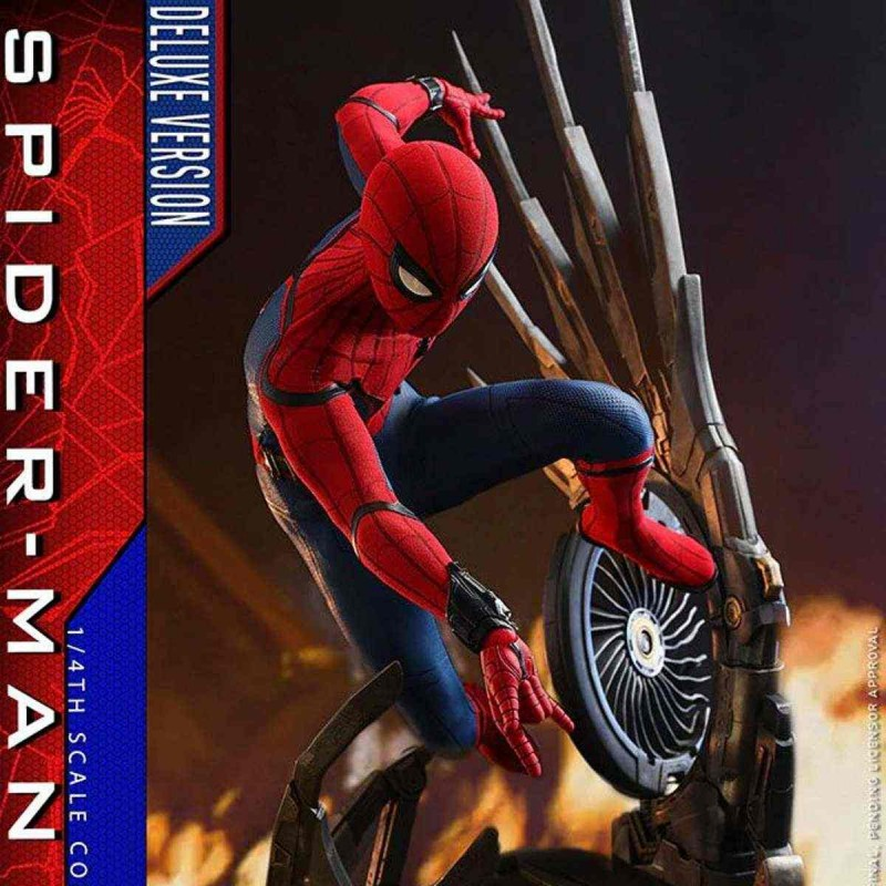 Spider-Man (Deluxe Version) - Spider-Man: Homecoming - 1/4 Scale Figur