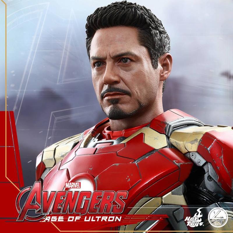 Iron Man Mark XLIII - Age of Ultron - 1/4 Scale Collectible