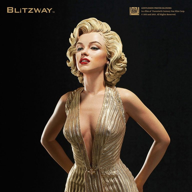 Marilyn Monroe - 1/4 Superb Scale Hybrid Statue