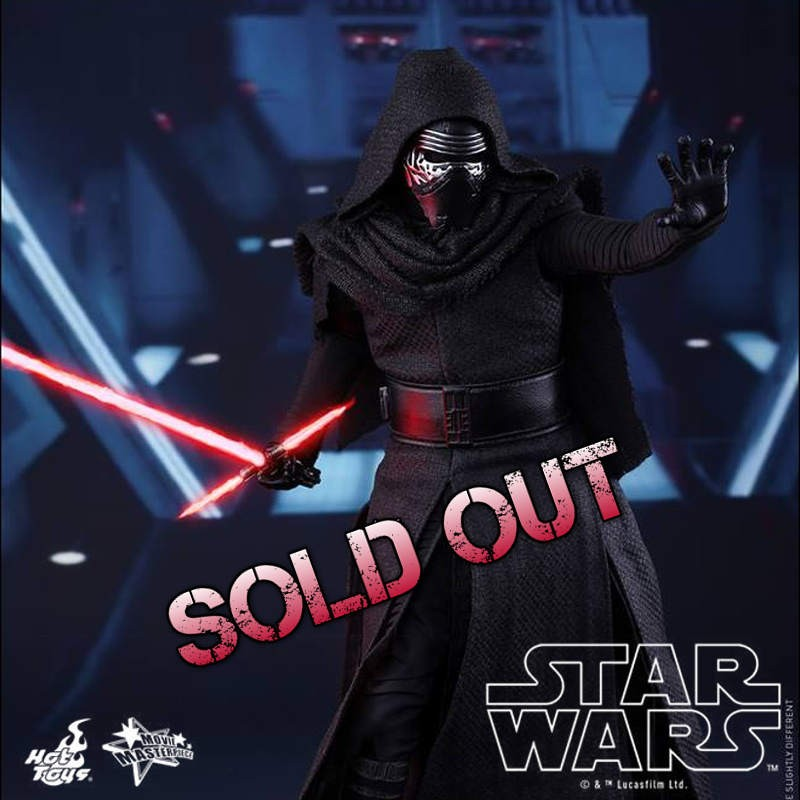 Kylo Ren - Star Wars - 1/6 Scale Figur