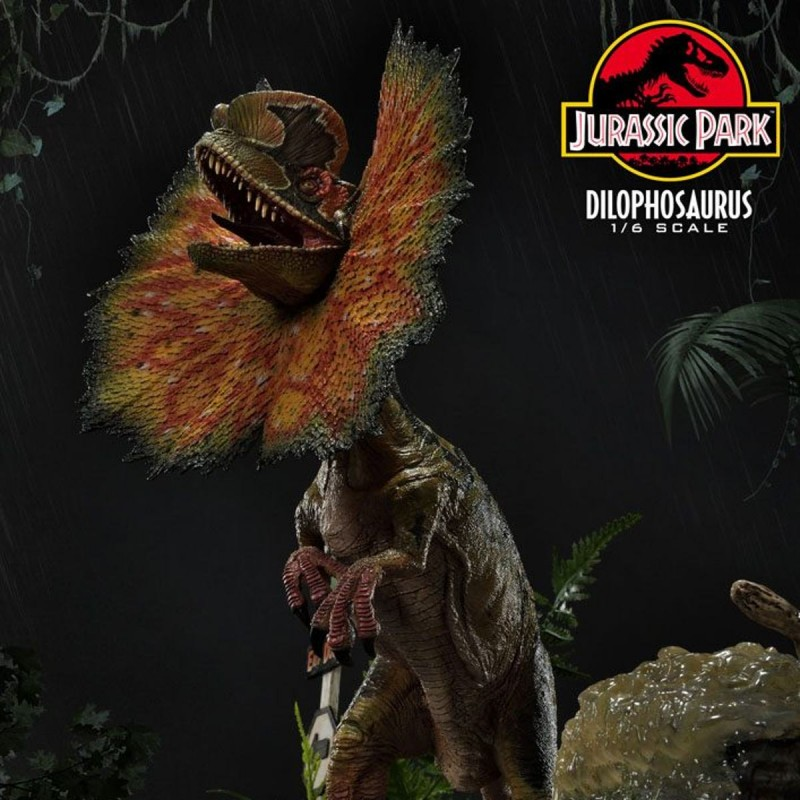 Dilophosaurus ( Bonus Version) - Jurassic World: Fallen Kingdom - 1/6 Scale Polystone Statue