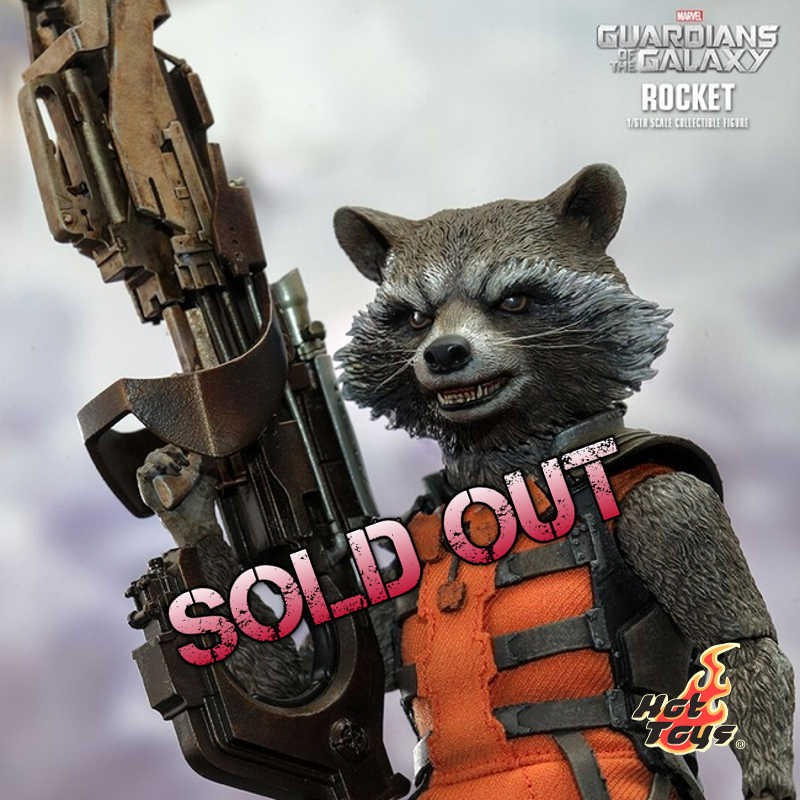Rocket - Guardians of the Galaxy - 1/6 Scale Figur