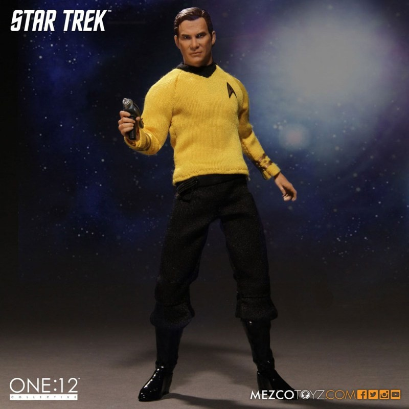 Kirk - Star Trek - 1/12 Scale Figur
