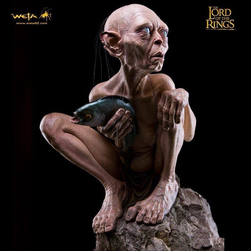 Gollum - Herr der Ringe - Life-Size Statue
