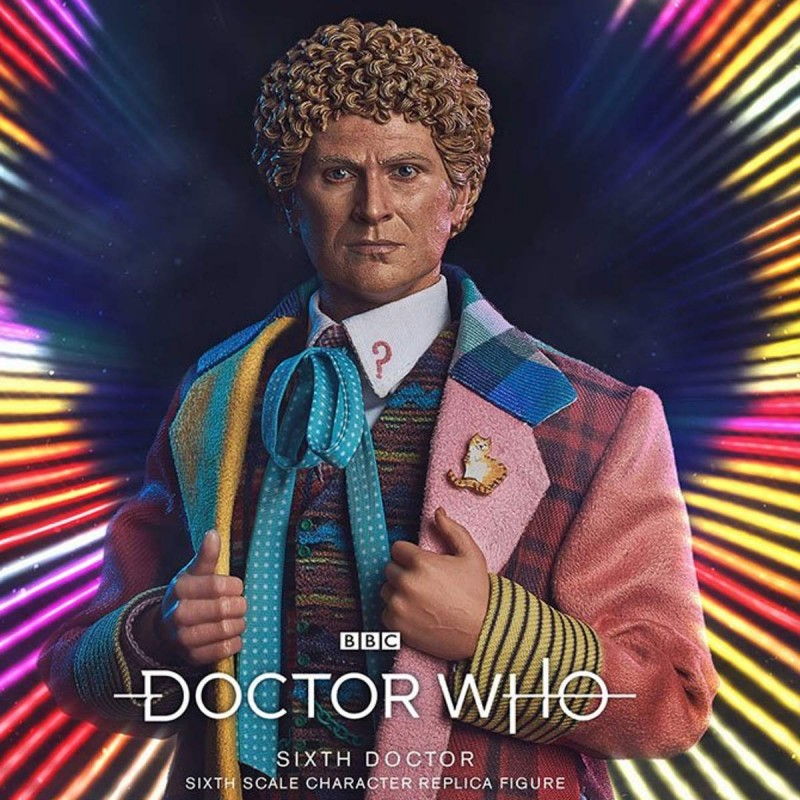 6th Doctor (Colin Baker) Limited Edition - Doctor Who - 1/6 Scale Figur