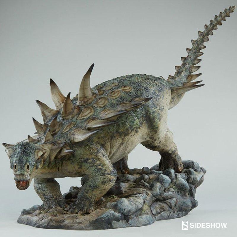 Gastonia - Dinosaurier - Polystone Statue