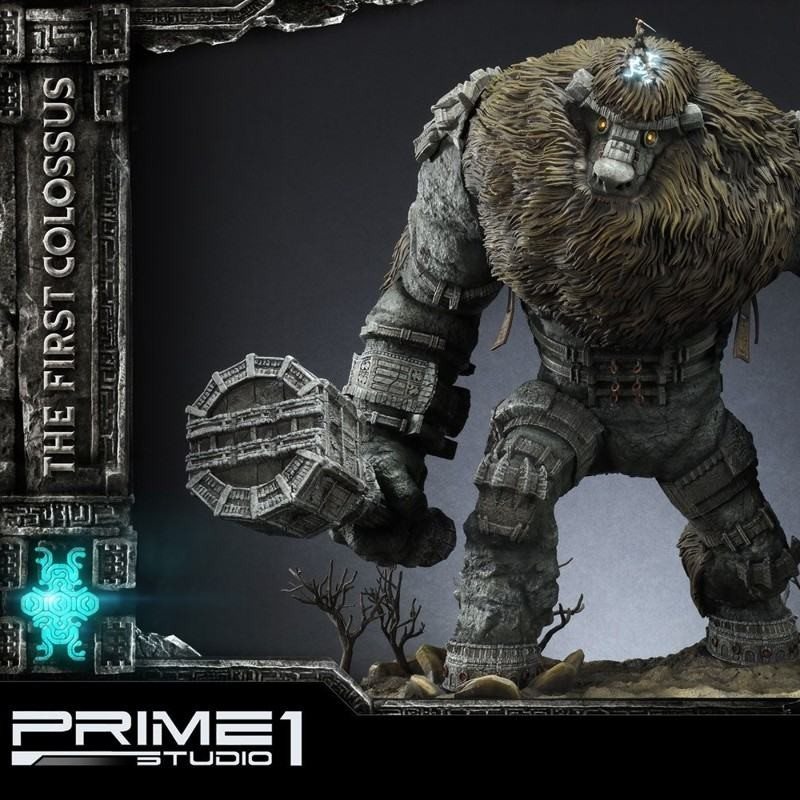 The First Colossus - Shadow of the Colossus - Polystone Statue