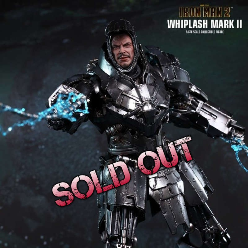 Whiplash Mark II - Iron Man 2 - Diecast 1/6 Scale Figur