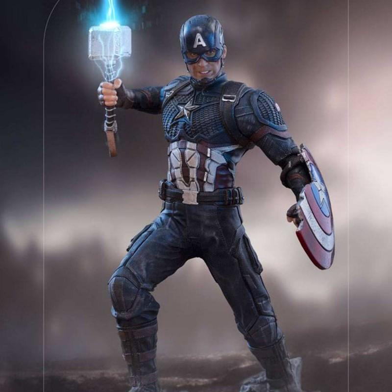 Captain America Ultimate - Marvel The Infinity Saga - 1/10 BDS Art Scale Statue