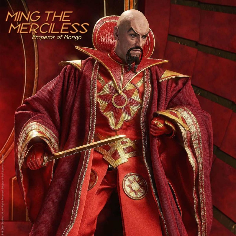 Ming the Merciless Limited Edition - Flash Gordon - 1/6 Scale Figur
