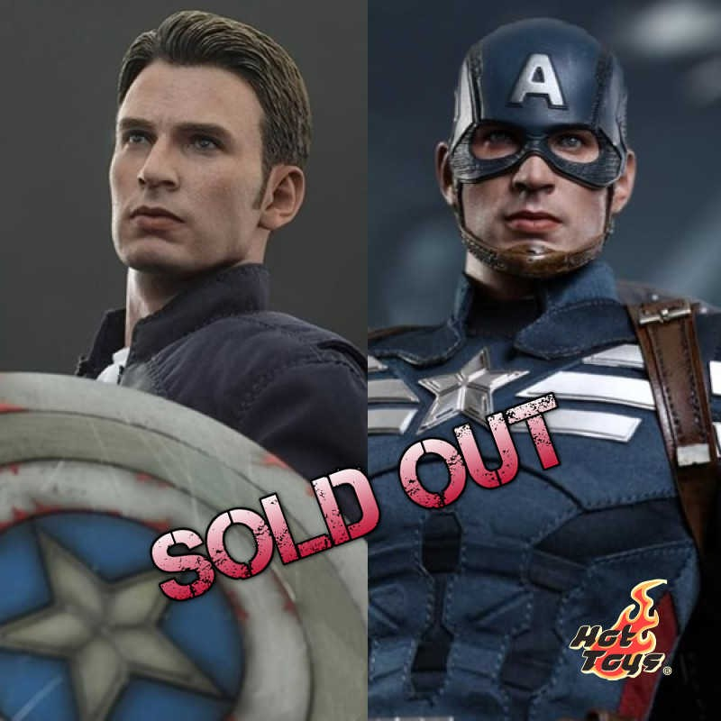 Captain America & Steve Rogers - 1/6 Scale Set