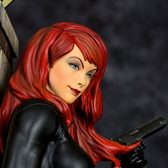 Black Widow Marvel Comics - 1/4 Scale Premium Statue