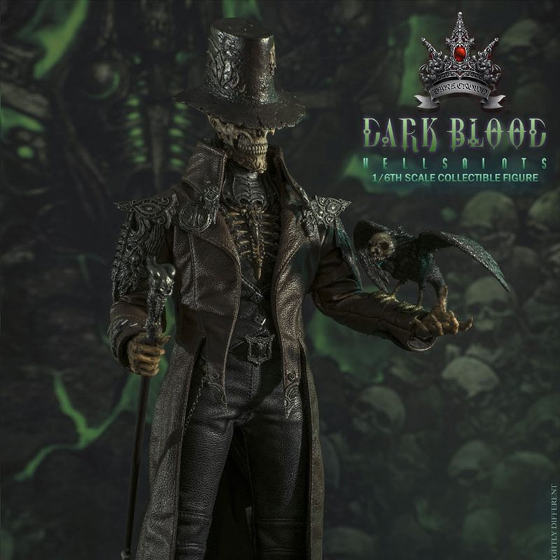 Hell Saints - Dark Blood - 1/6 Scale Actionfigur