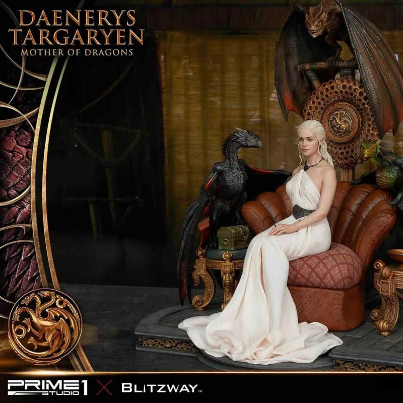Daenerys Targaryen - Mother of Dragons - Game of Thrones - 1/4 Scale Polystone Statue