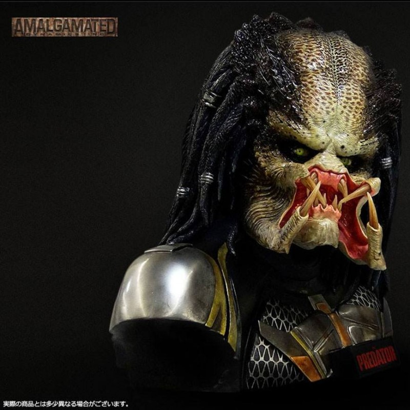 Fugitive Predator - Predator Upgrade - Life-Size Bust