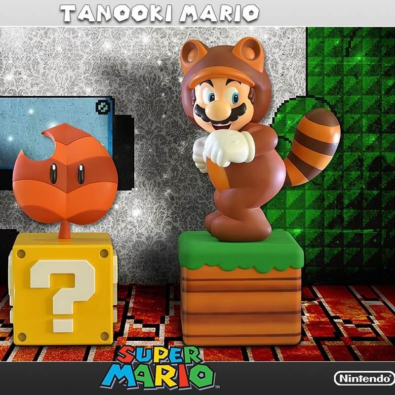 Tanooki Mario Exclusive - Super Mario - Polystone Statue