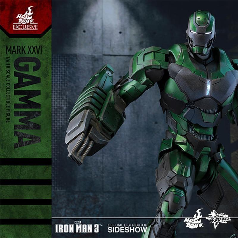 Gamma Mark XXVI - Iron Man 3 - 1/6 Scale Action Figur