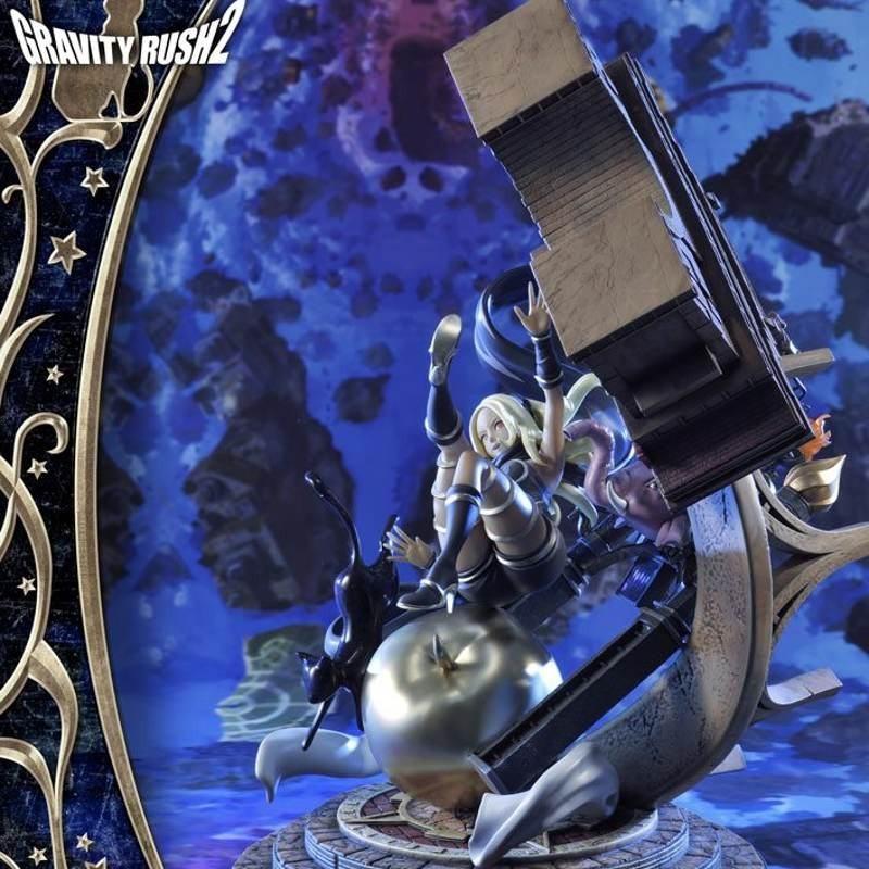 Kat - Gravity Rush 2 - Polystone Statue