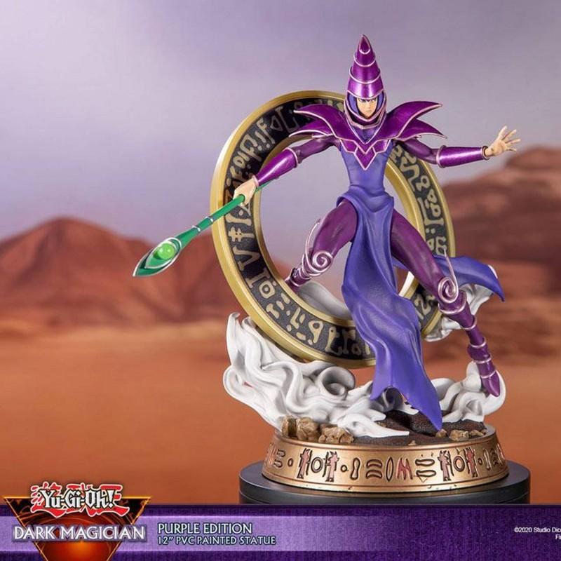 Dark Magician Purple Version - Yu-Gi-Oh! - PVC Statue