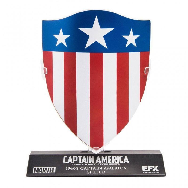 Captain America's 1940's Schild LC Excl. - Captain America - 1/6 Replik