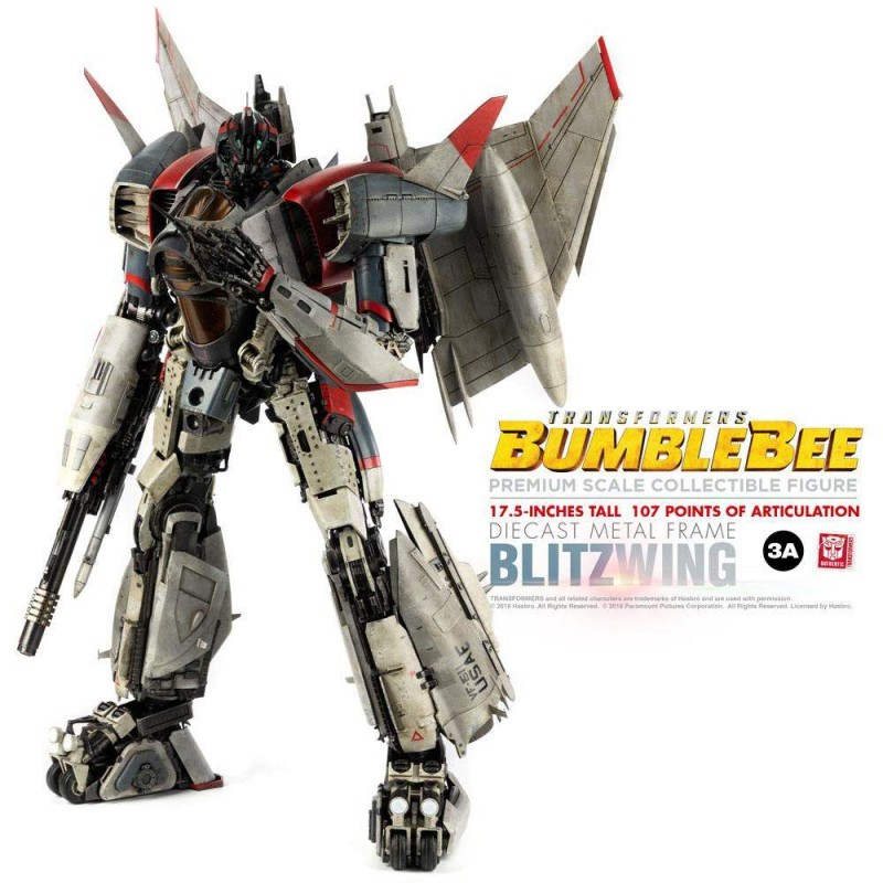 Blitzwing - Bumblebee - Premium Scale Actionfigur