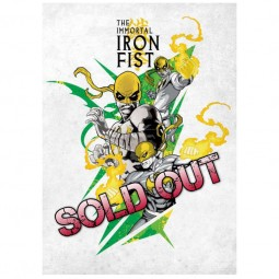 The Immortal Iron Fist - Marvel Comics - Metall-Poster