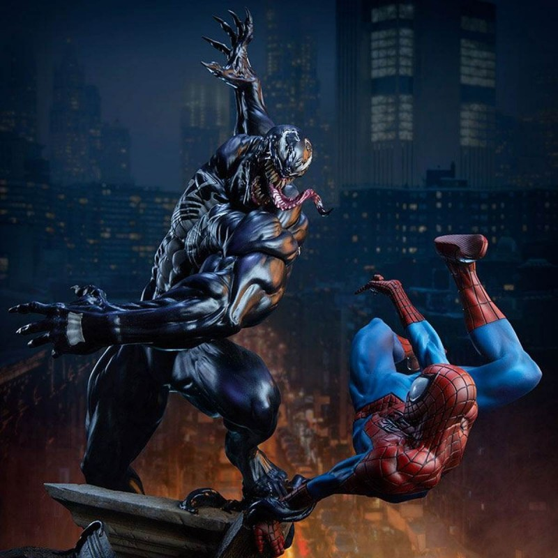 Spider-Man vs Venom - Marvel Comics - Maquette