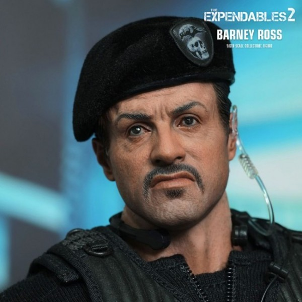 Barney Ross - Expendables 2 - 1/6 Scale Figur