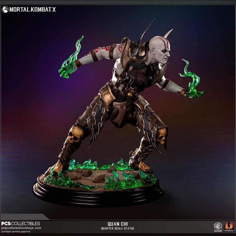 Quan Chi - Mortal Kombat - 1/4 Scale Statue