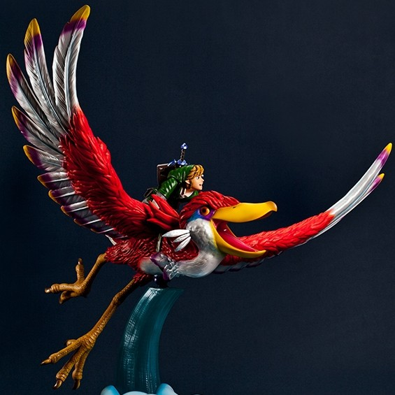 Skyward Sword - Link on Loftwing - Polystone Statue